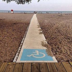 Accessible Beach Paths
